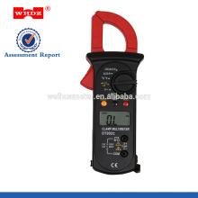 Pince multimètre numérique DT202C avec température avec continuité avec maintien des données du buzzer