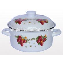 Эмалированная посуда эмалированная посуда эмаль круглый горшок эмалированная посуда эмалированная посуда эмаль круглый горшок