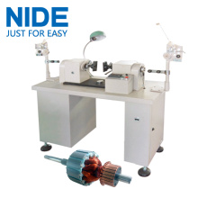 Semi-auto Armature Small Rotor Coil Winding Machine
