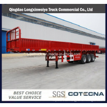 Side Wall Open Container Transportation Semi Trailer