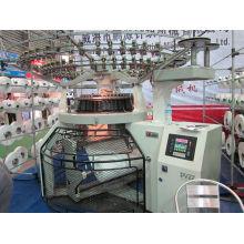 Flanell Strickmaschine Färbe- und Fixiermaschine
