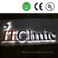 Sinais acrílicos personalizados da letra de canal do diodo emissor de luz do sinal do logotipo