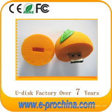 Hot Sale Cartoon Colourful Food Open-Design USB Flash Drive for Free Sample