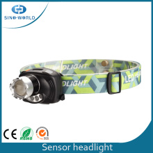 3W CREE LED Headlight com Stretch Focus Design