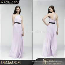Popular Sale raw silk evening dress