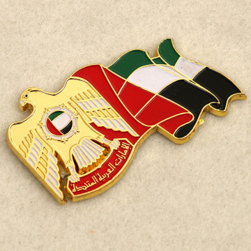 Émail mol Lapel Pin Badge