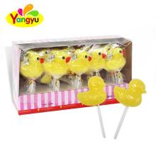 Cartoon Lollipop Cute Yellow Duck Sweet Hard Lollipop