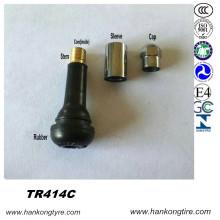 Válvula Tr414c, Válvula para pneus, válvula Snap-in