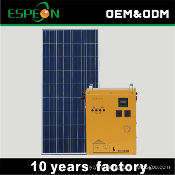 All in one 300W solar panel home system model for home use