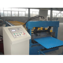 CE Standard steel silo roll forming machine