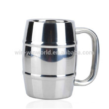 Wholesale FDA Double Wall Stainless Steel 304 Coffee Mug/Costa Coffee Mug With Handle For Coffee Sets Drinkware