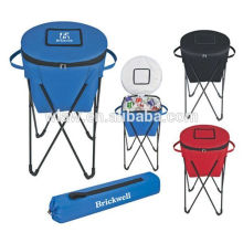 Foldable picnic standing cooler bag