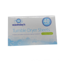 40 Sheets Tumble Dryer Sheets