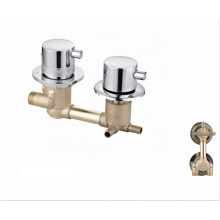 Sanitary ware  Factory OEM brass temperature control mixer valve  shower thermostatic faucet