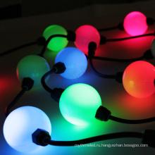 Управление DMX 3д 50мм Сид полного цвета RGB шариковая освещения светодиодный модуль пиксель света строка