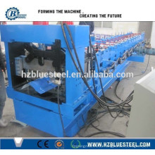 Step Tile Roof Ridge Cap Roll Forming Machine, Metal Roof Hip Cap Making Machine