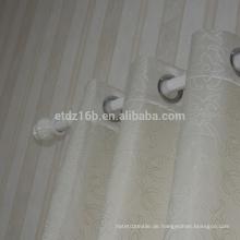 Neue Ankunft 100% Polyester Stickerei Fenster Vorhang