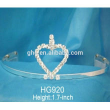 Reasonable & acceptable price factory directamente a princesa a granel nueva princesa cristalina tiara de la corona