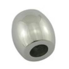 Bracelet de perles de logo en métal personnalisé