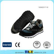 Fecho de cordão fácil para calçado de corrida de ajuste seguro