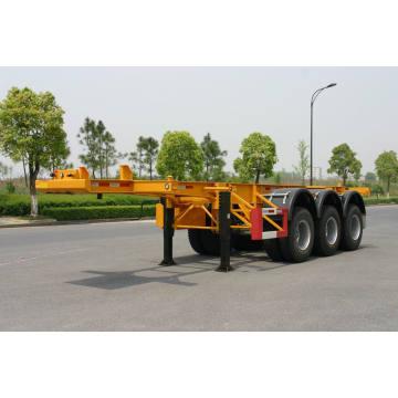 20 / 40ft squelettique arrière 3 essieux Container châssis de remorque (HZZ9401TJZ)