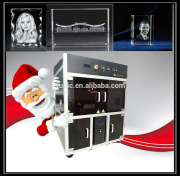 2014 3d photo crystal laser engraving machine Crystal crafts common glass and other transparent materials