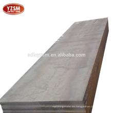 Placa de acero de 20 mm de espesor