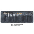11pcs bamboo handle makeup tools kit cosmetic brush set