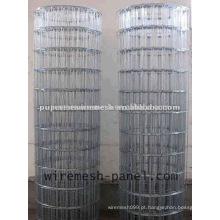 2 * 2 electro galvanizado malha de arame soldada