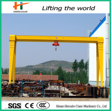 Box Type Workshop Used Single Beam Gantry Cranes
