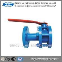 Russia standard WCB flange ball valve