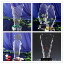 Promotional Gift Company Celebration Trophy Award Crystal Trophy