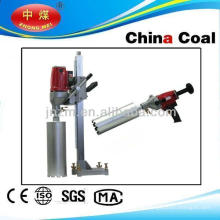 Multi-angle diamond borehole drilling machine with bits