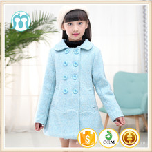 Enfants manteau nouvel an ciel bleu hiver enfants vêtements de noël vestes en vrac de haute qualité filles mode vestes vêtements 2017