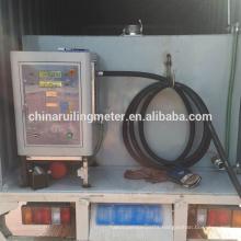 12/24V Mobile methanol gas filling machine digital fuel dispenser