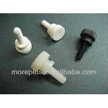 Parafusos de polegar moleados - Parafuso de plástico