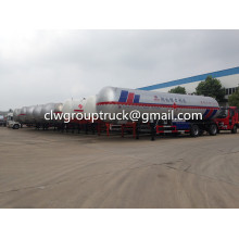 LPG 3 Axles 25.8T Transportation Semi-Trailer