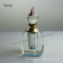 12ml Dxb Crystal Oud Bouteille d'huile de parfum