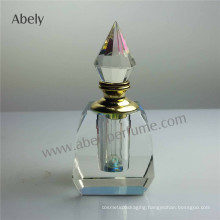 12ml Dxb Crystal Oud Perfume Oil Bottle