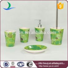 Accessoire en céramique en verre vert pour le marché européen