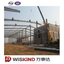 Armazém da construção de aço da planta da casa pré-fabricada da construção do período grande