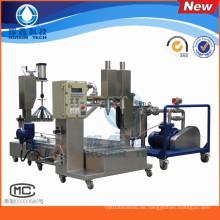 Zwei Köpfe automatische flüssige Füllmaschine für Harz / chemische Lösungsmittel / Härter
