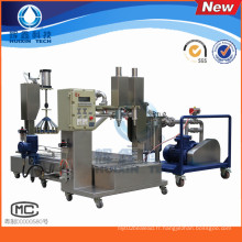 Machine de remplissage liquide automatique de deux têtes pour la résine / solvant chimique / agents de durcissement