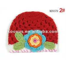 baby beanie crochet hat kniited cotton hat kids crochet caps