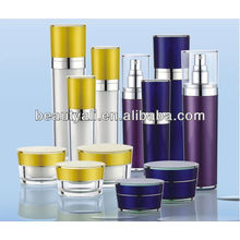 30ml 50ml 80ml 120ml cone acrylic lotion bottle for cosmetic