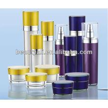 30ml 50ml 80ml 120ml cone acrílico loção garrafa para cosméticos