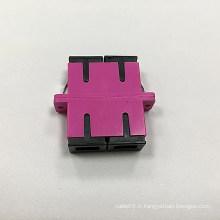 Adaptateur duplex à fibre optique Sc