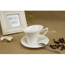 New style wholesale bulk porcelain tea cup and saucer cheap