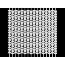 Vente chaude grille de maille en acier inoxydable bien tricoté