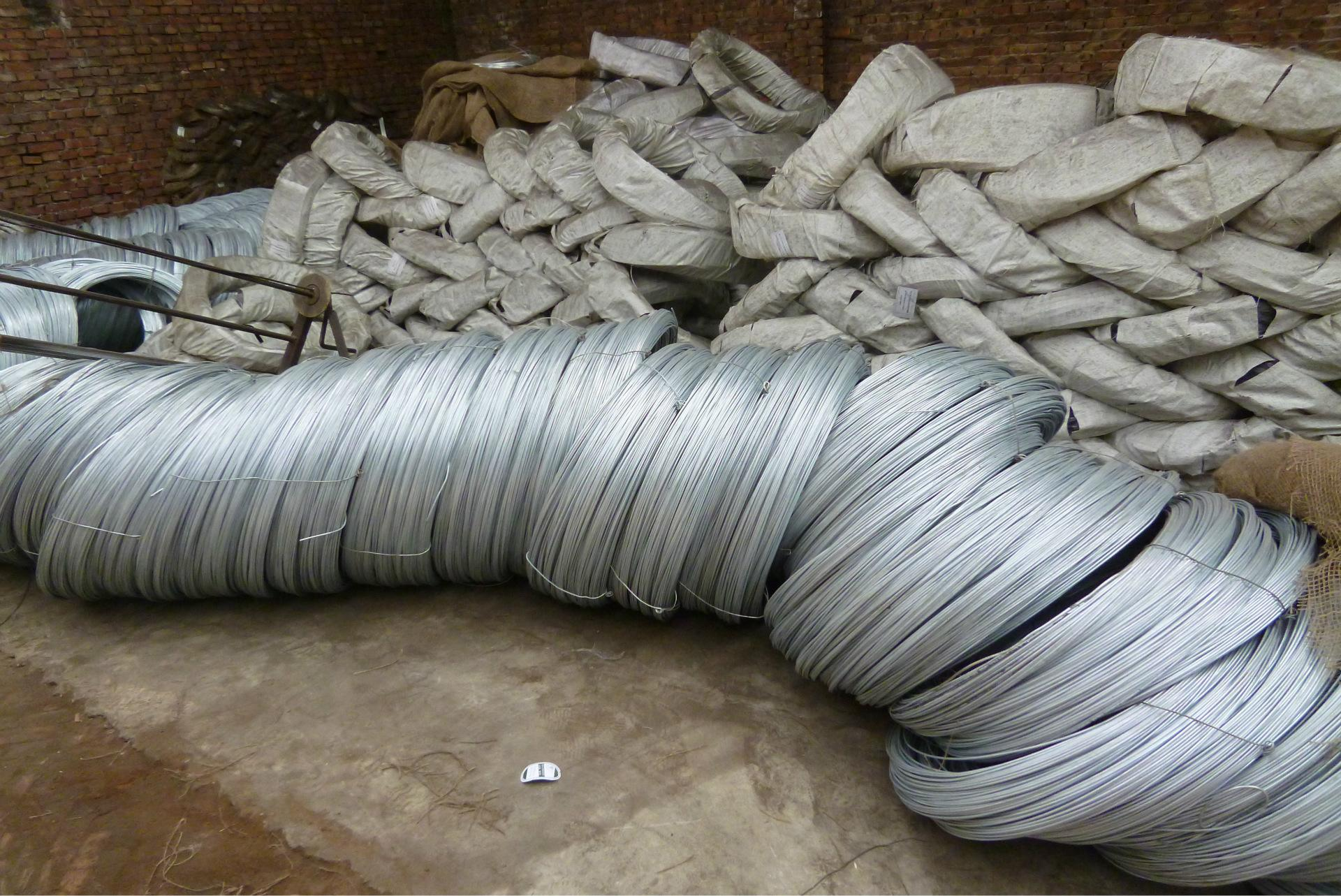 0.8mm BWG21 Galvanized Binding Wire (1)
